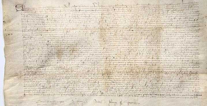 carta fundacional de Solesmes