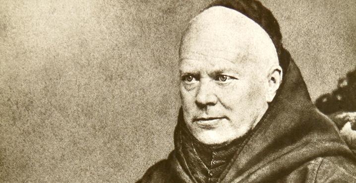 dom Prosper Guéranger abad de Solesmes