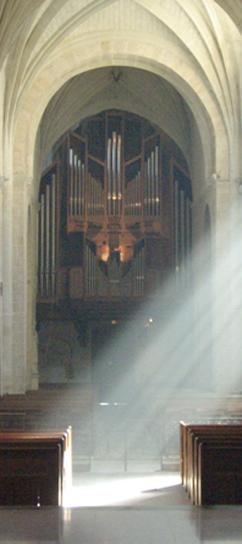 el órgano de Solesmes
