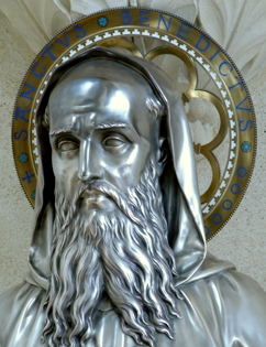 relicario de San Benito Solesmes