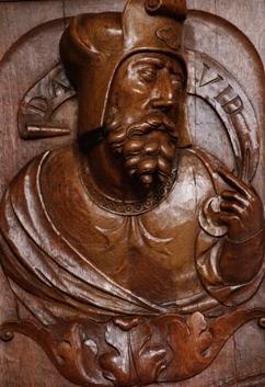 el rey David Solesmes